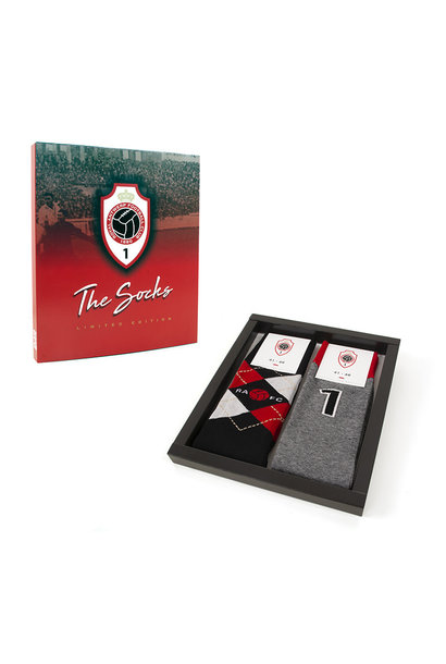 RAFC - Giftbox met set van 2 paar sokken