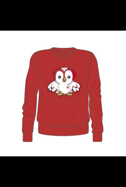 RAFC Sweater 'Bosuiltje' Kids - Rood