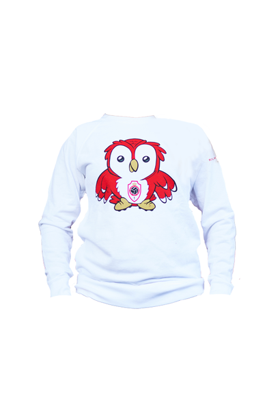 RAFC Sweater 'Bosuiltje' Kids - Wit
