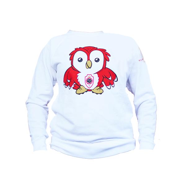 RAFC Sweater 'Bosuiltje' Kids - Wit-1