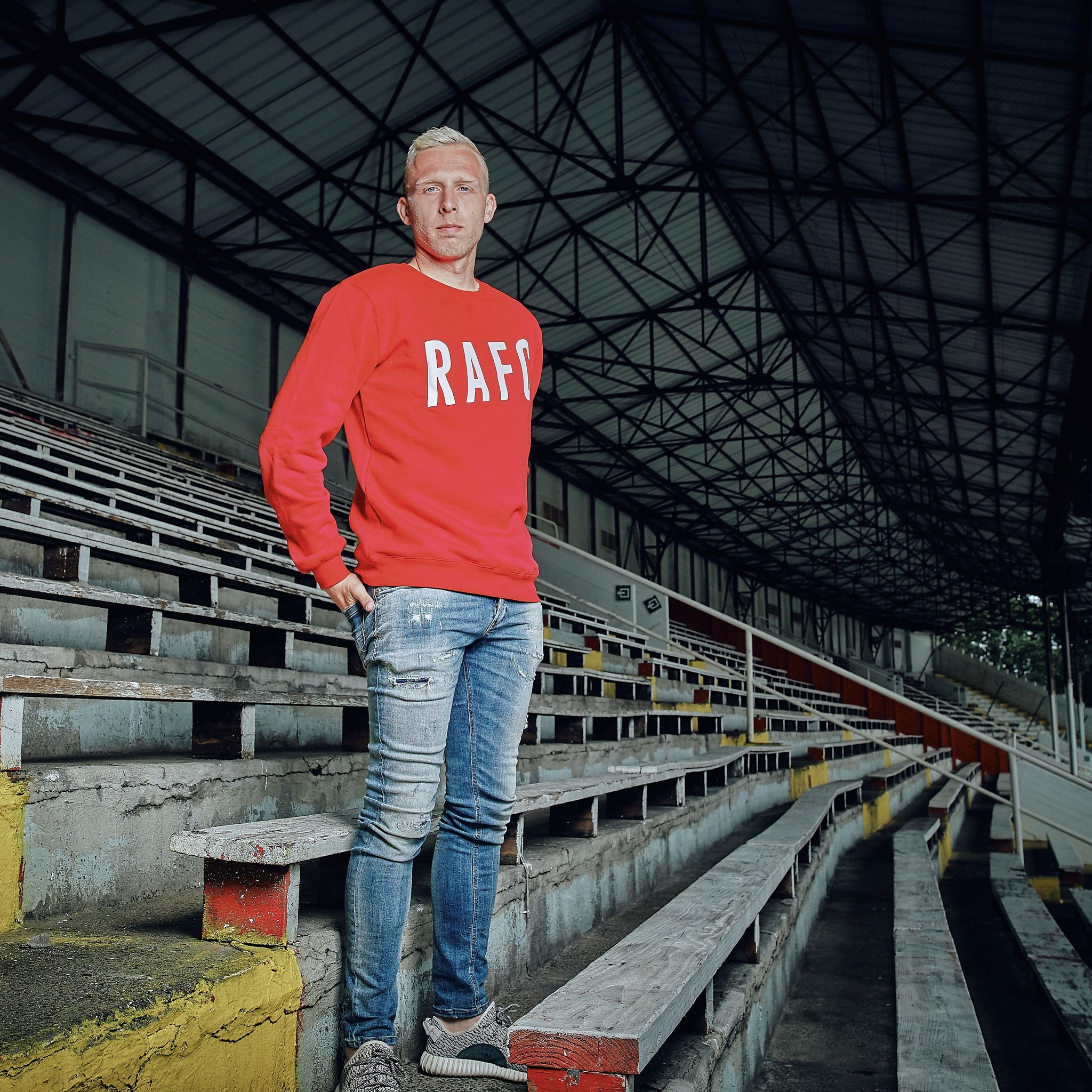 RAFC Sweater - Rood-4