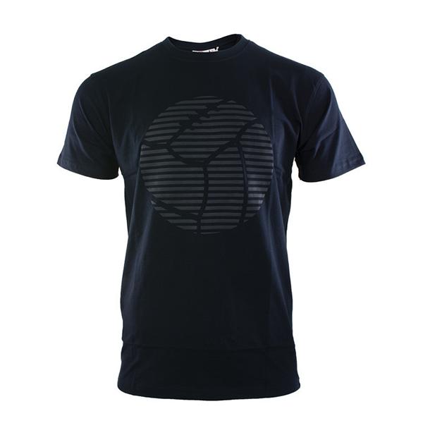 RAFC T-shirt Retro Ball - Navy-1