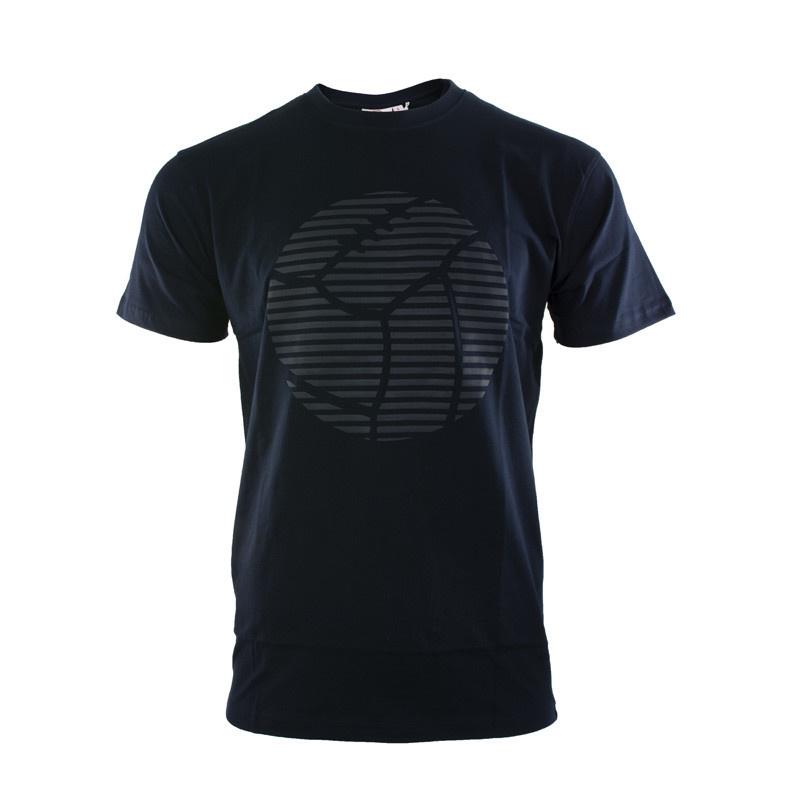 RAFC T-shirt Retro Ball - Navy-5