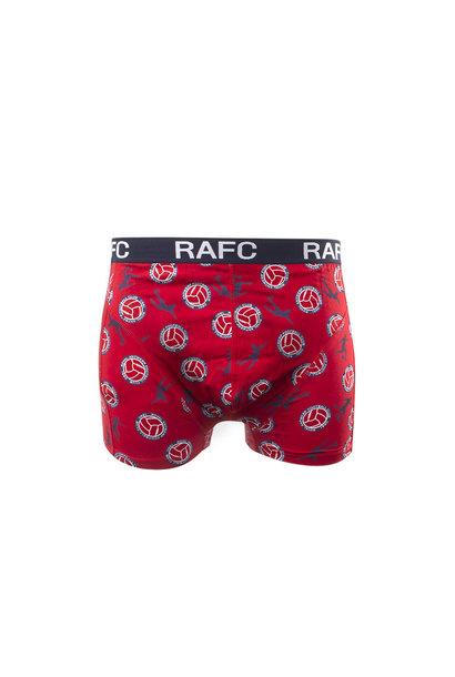RAFC  Boxershort rood/marine