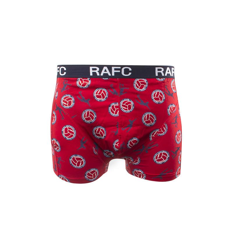 RAFC  Boxershort rood/marine-1