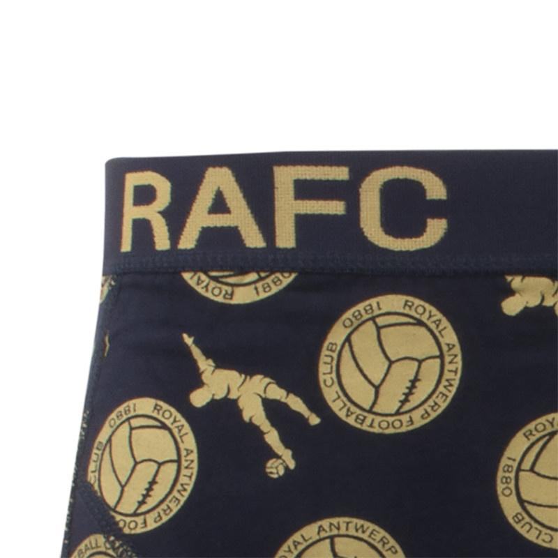 RAFC  Boxershort goud/marine-3