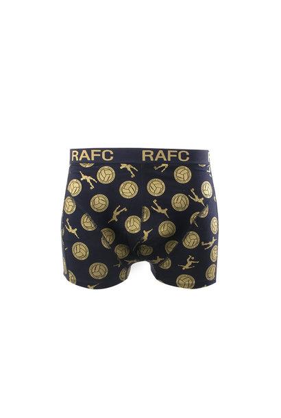 RAFC  Boxershort goud/marine