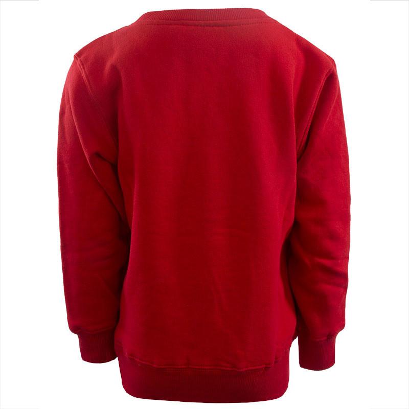 RAFC Sweater Retro Ball Kids - Rood-9
