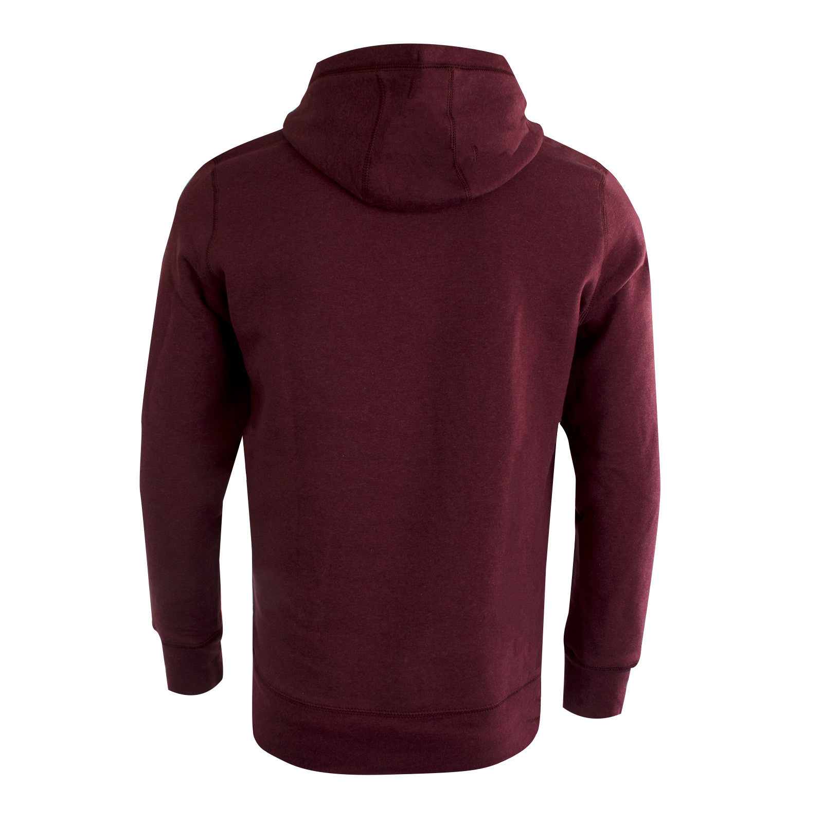 RAFC Hoodie Wine Heather-2