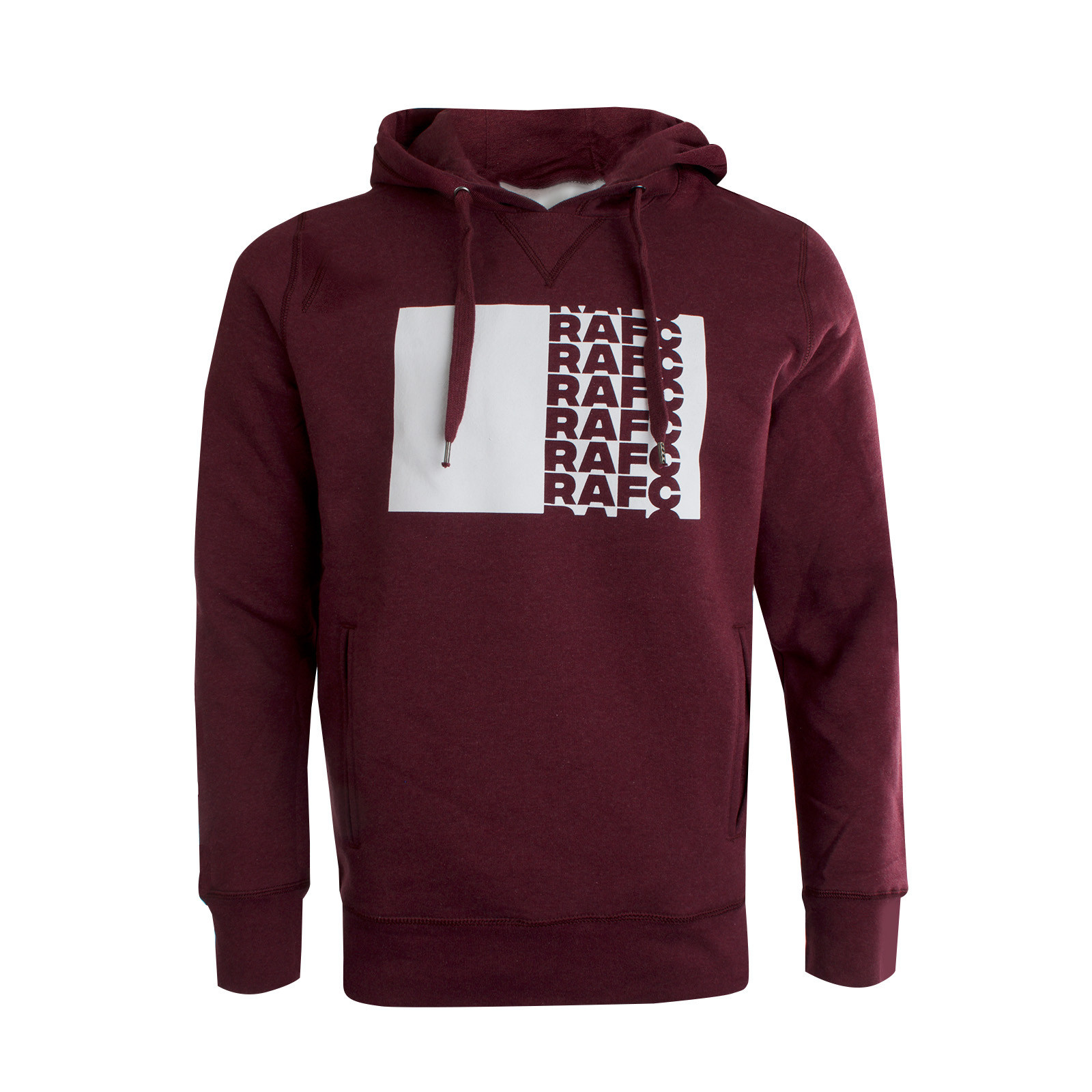 RAFC Hoodie Wine Heather-3
