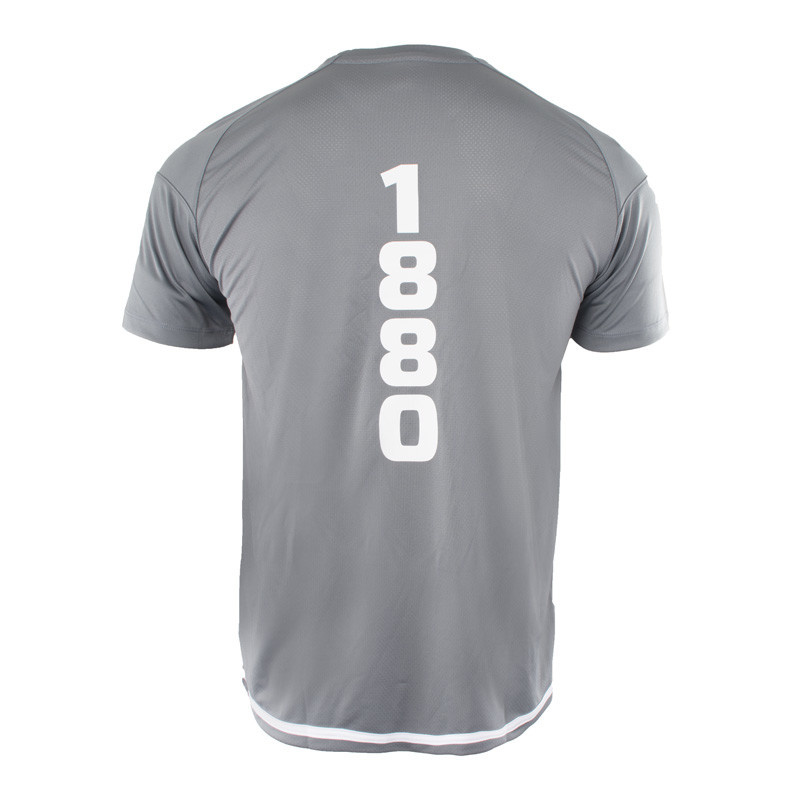 RAFC T-shirt Striker 2.0 - SteenGrijs/Wit-4