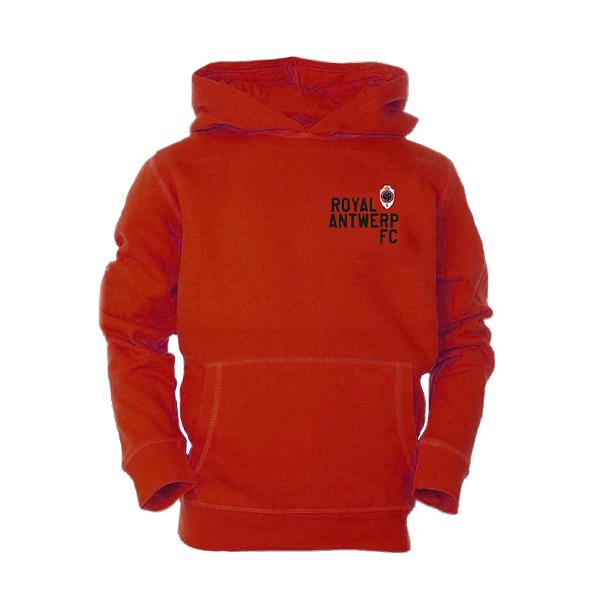 RAFC - Hoodie kids - red-1