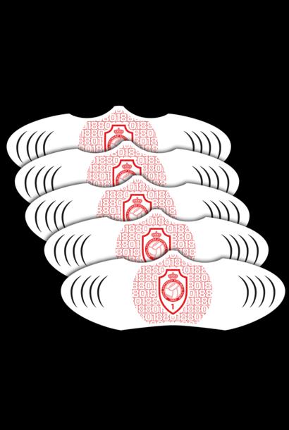 RAFC Mondmasker Patroon - 5 stuks