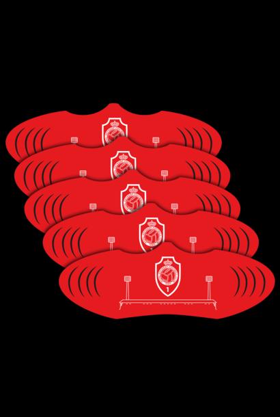 RAFC Mondmasker Logo -  5 stuks