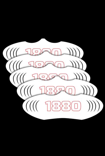 RAFC Mondmasker 1880 - 5 stuks