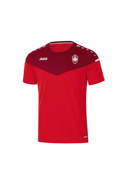 T-shirt Champ 2.0 Kids - rood/wijnrood
