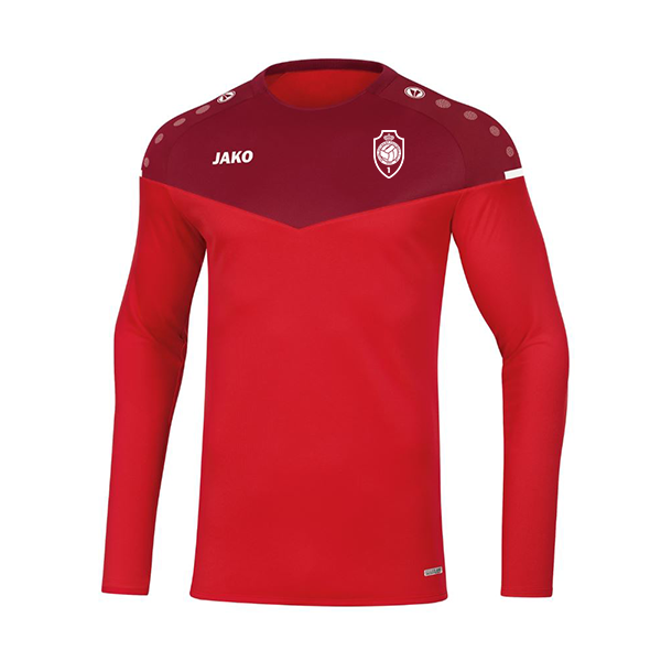 Sweater Champ 2.0 - rood/wijnrood-1
