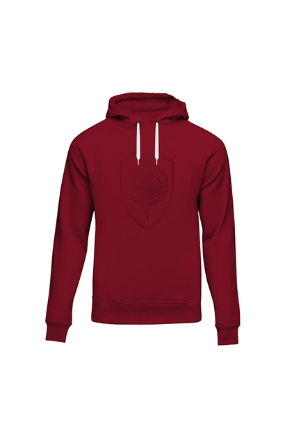 RAFC - Hooded sweater red - RAFC shield