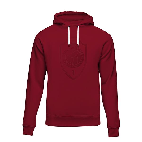 RAFC - Hooded sweater red - RAFC shield-1