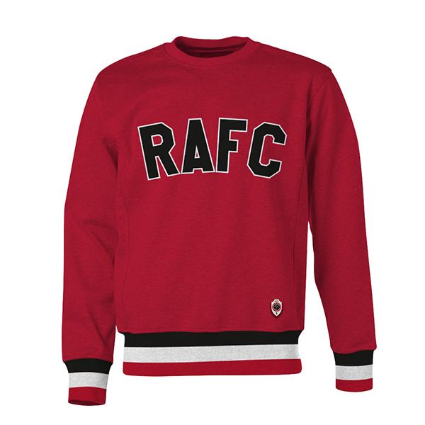 RAFC - Crewneck kids red - RAFC-1