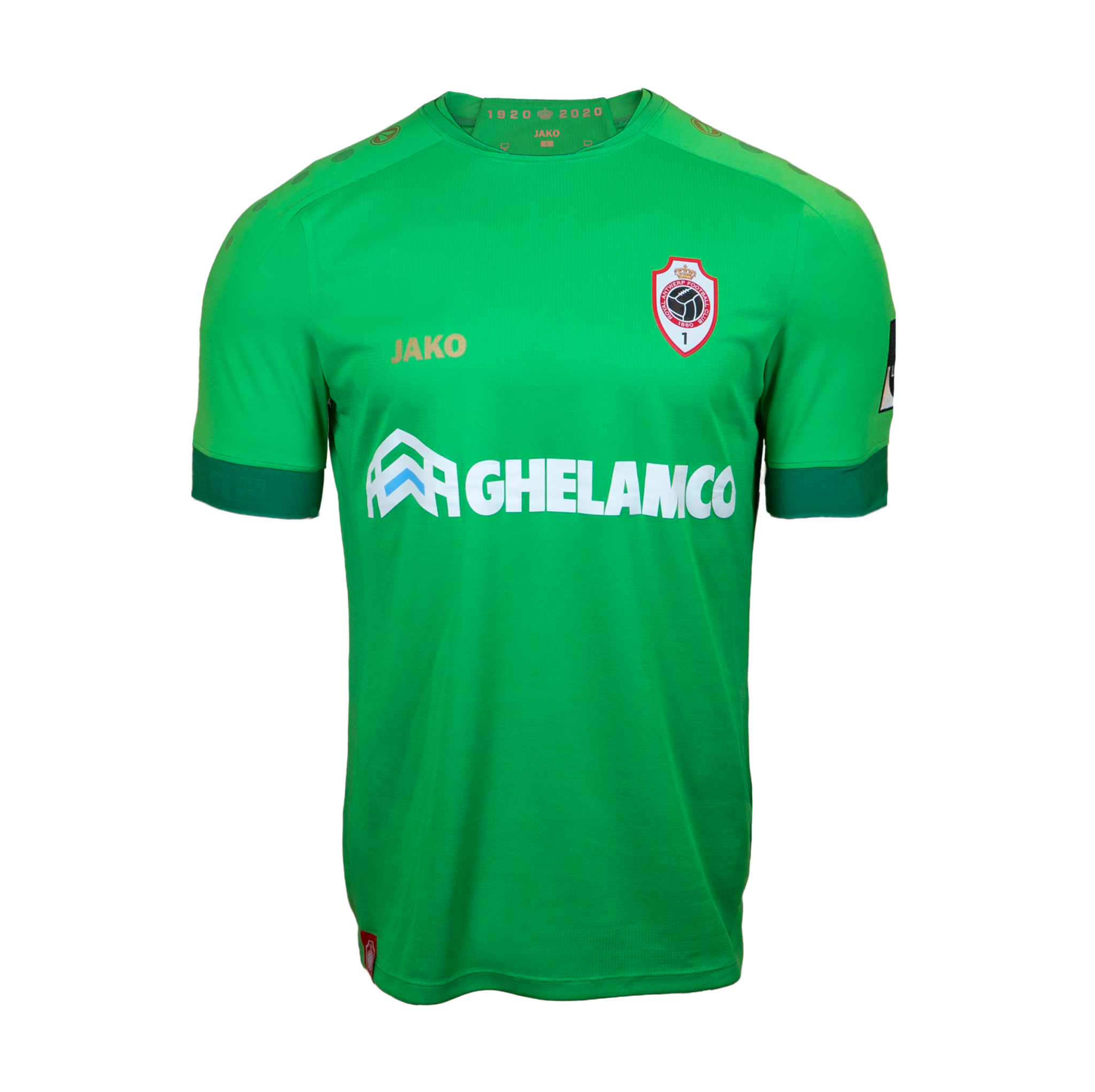 RAFC Keepershirt Groen 20/21 Kids-1