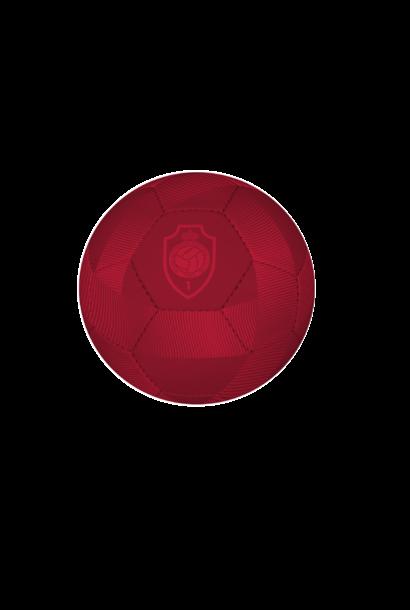 RAFC Voetbal mat rood - maat 5