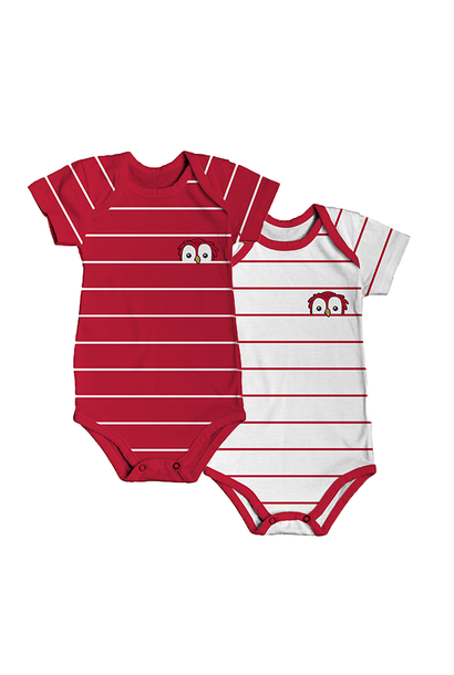 RAFC - Baby bodyset - Stripes owl