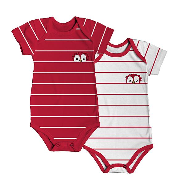 RAFC - Baby bodyset - Stripes owl-1