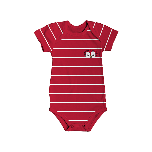 RAFC - Baby bodyset - Stripes owl-2