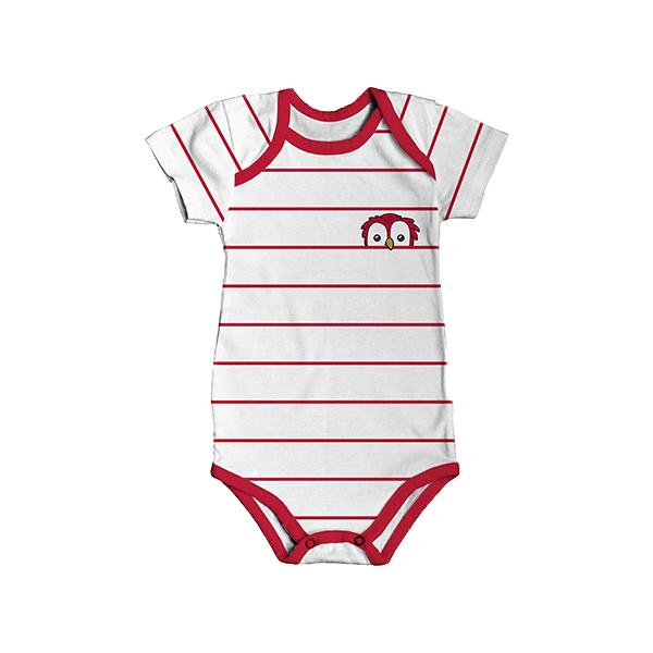 RAFC - Baby bodyset - Stripes owl-3