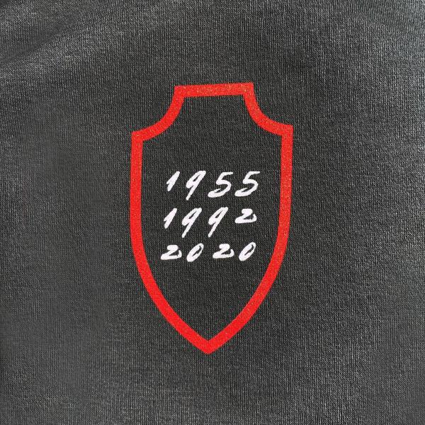 Hoodie grijs RAFC badge - Cup Winner-2