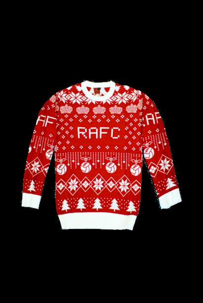 RAFC Kersttrui Rood/Wit