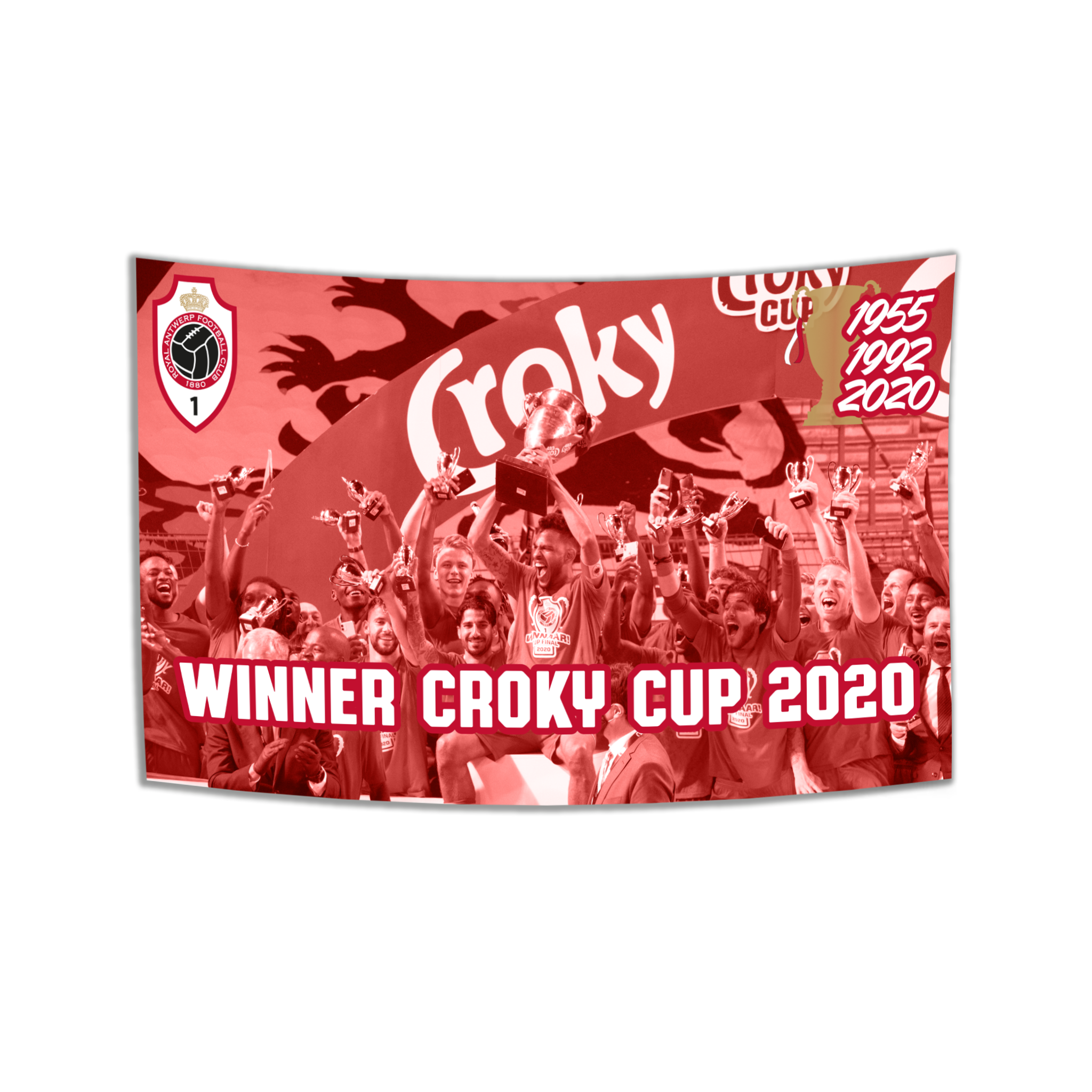 Vlag RAFC Cup Winners-1