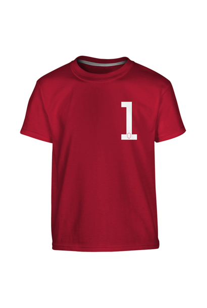 RAFC - T-shirt kids red 1