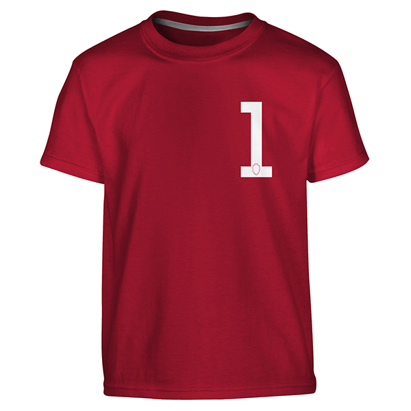 RAFC - T-shirt kids red 1-1