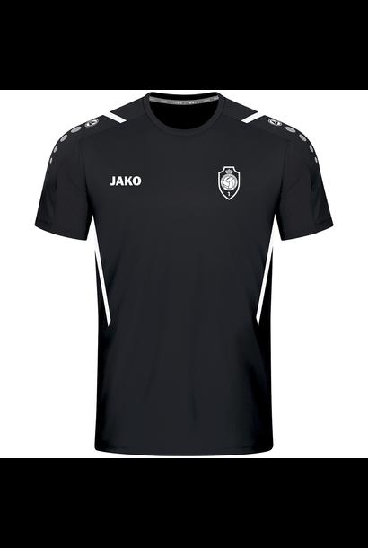 RAFC T-shirt Challenge - Zwart/Wit