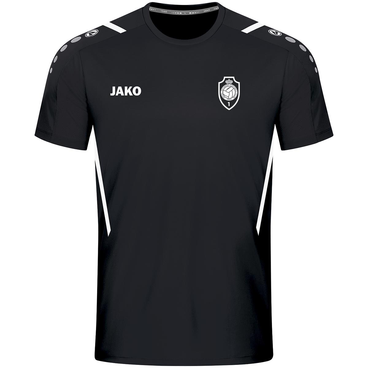 RAFC T-shirt Challenge - Zwart/Wit-1