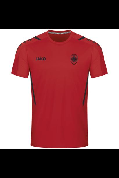 RAFC T-shirt Challenge Kids - Rood/Zwart