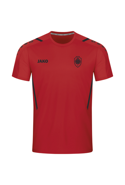 RAFC T-shirt Challenge - Rood/Zwart