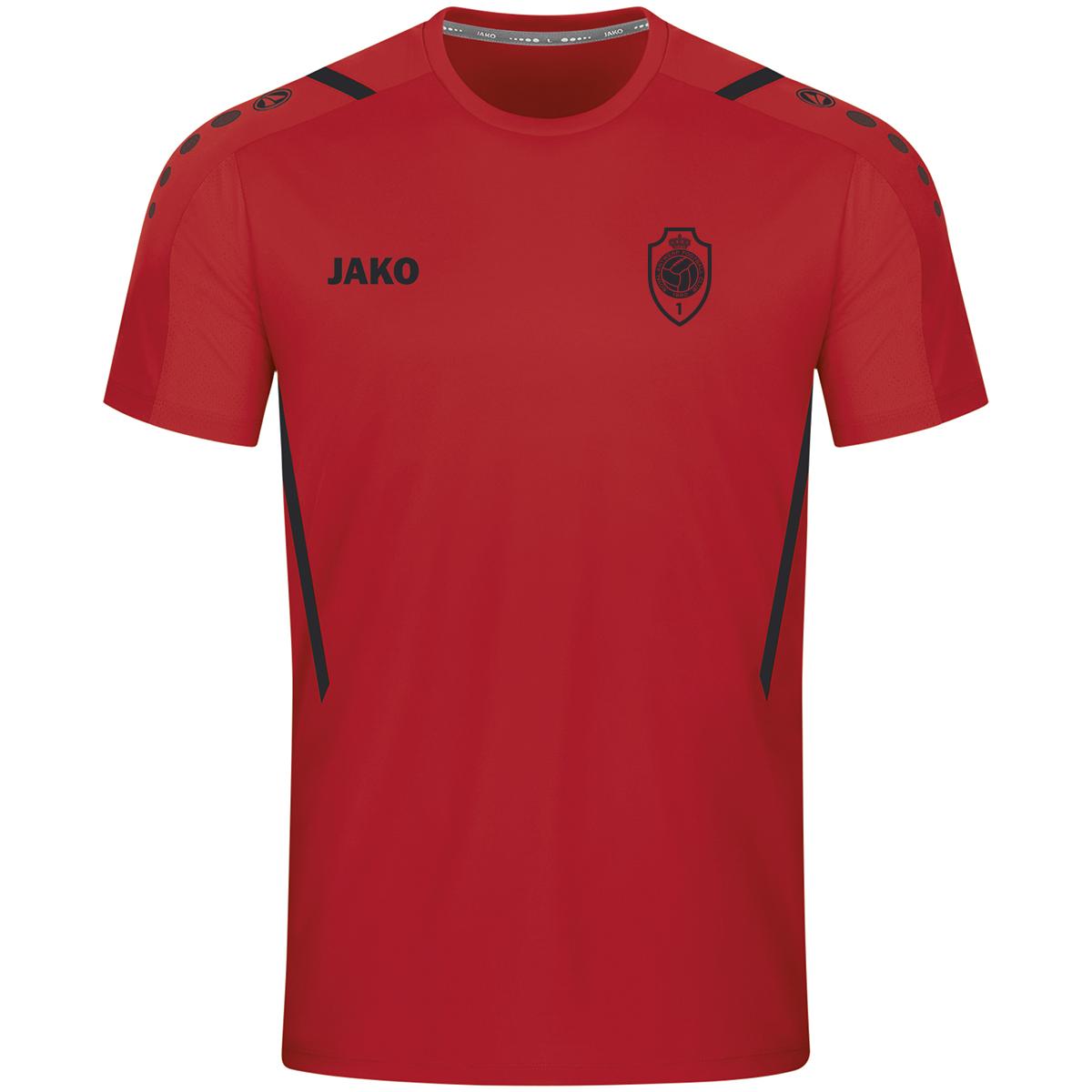 RAFC T-shirt Challenge - Rood/Zwart-1