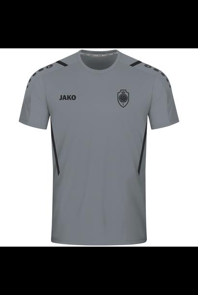 RAFC T-shirt Challenge Kids - Steengrijs/Zwart