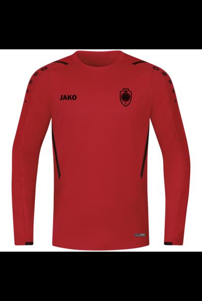 RAFC Sweater Challenge Kids - Rood/Zwart