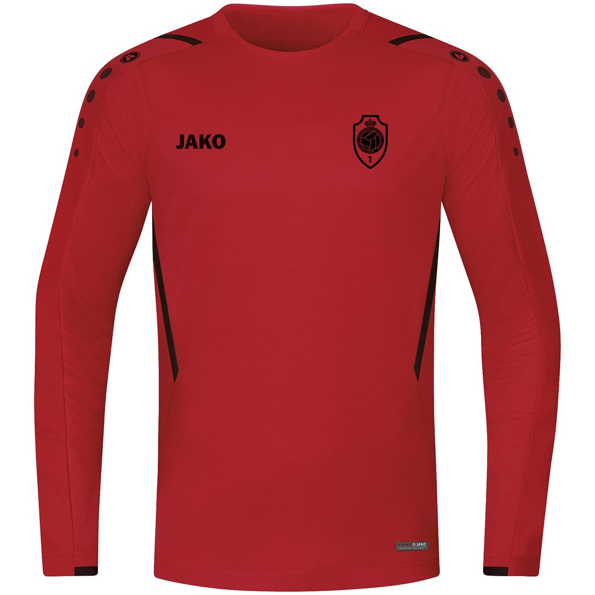 RAFC Sweater Challenge Kids - Rood/Zwart-1