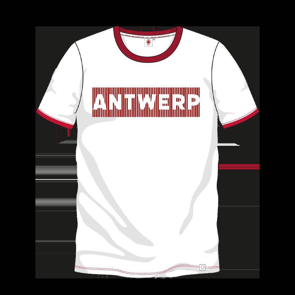 T-shirt 'Antwerp' - Wit-1