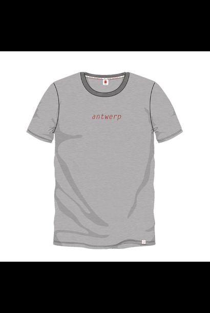 T-shirt 'Antwerp' - Grijs
