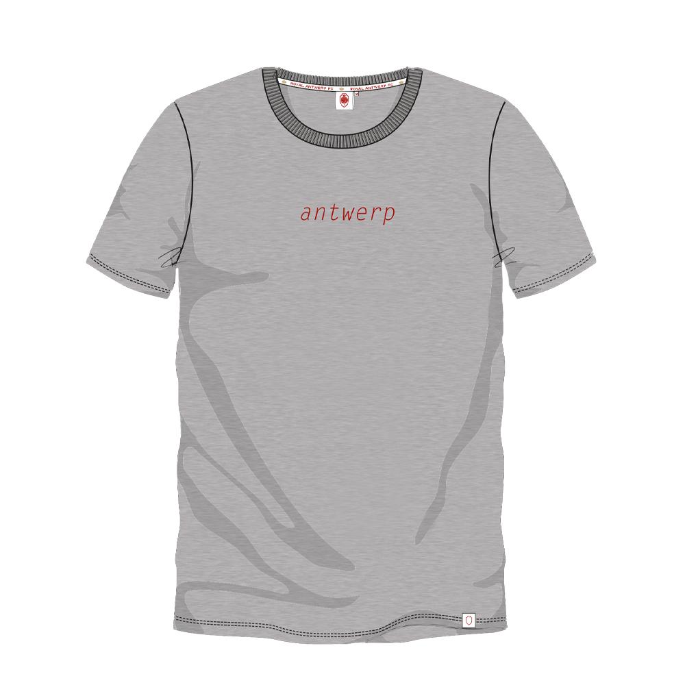 T-shirt 'Antwerp' - Grijs-1