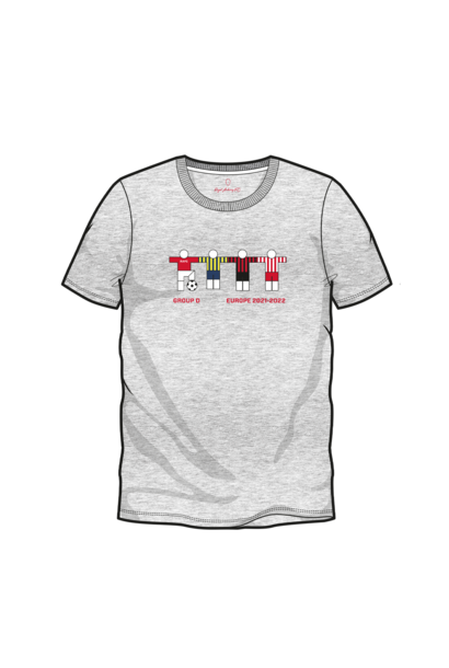 RAFC T-shirt UEL Groep D - Grijs