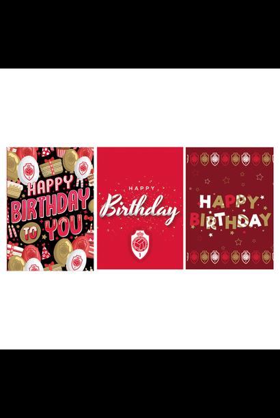 RAFC Verjaardagskaarten (6 stuks)