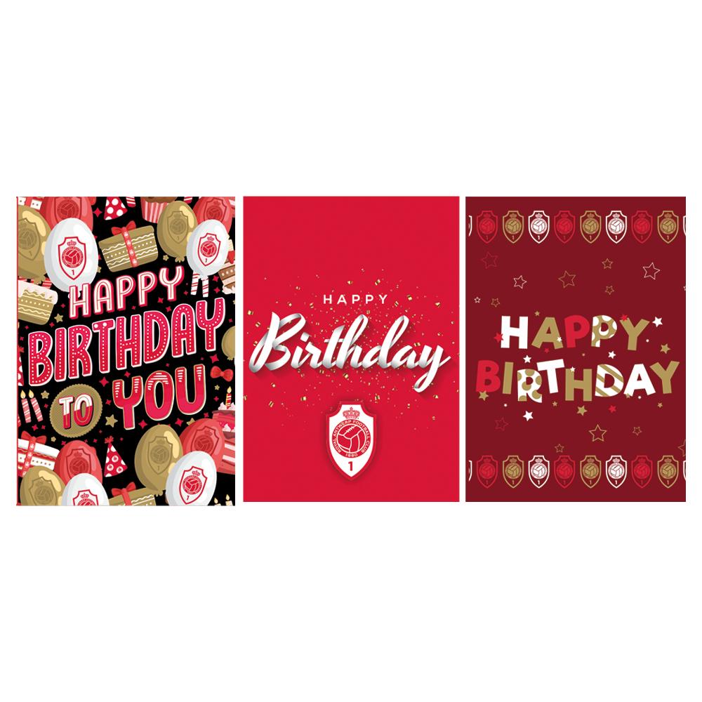RAFC Verjaardagskaarten (6 stuks)-1
