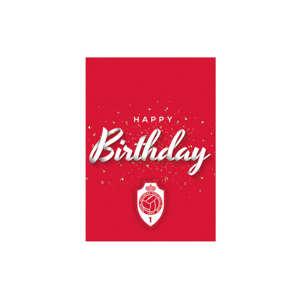 RAFC Verjaardagskaarten (6 stuks)-4